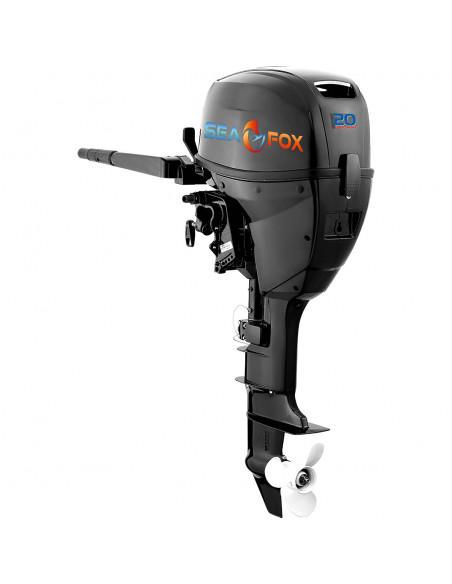 SeaFox 20Hk båtmotor. 4-takts utombordare. Kort eller lång rig. Med eller utan elstart. Inbyggt batteri