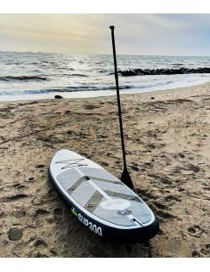 SUP300 12cm tjock uppblåsbar paddleboard som klarar ett tryck på hela 18Psi. För vikter upp till 100Kg