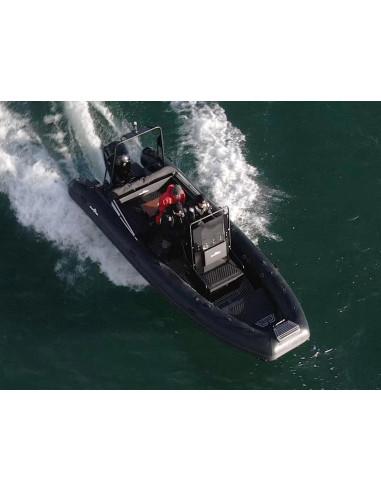 aluminiumrib DLX640 med mercury 150 - 225 hk