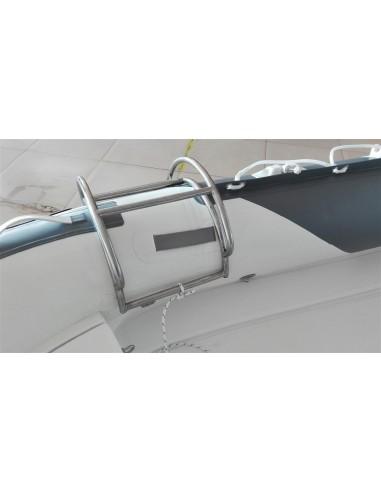 Badstege i rostfritt stål