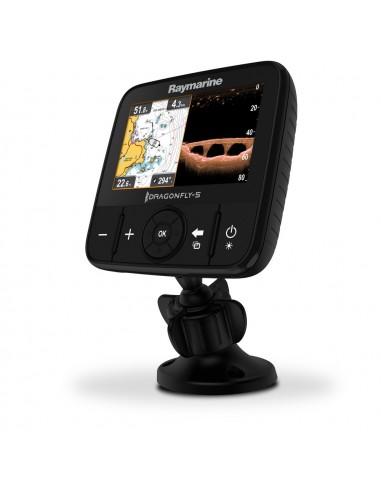 "DragonFly 5 Pro - 5"" skärm med Ekolod, Kartplotter, GPS"