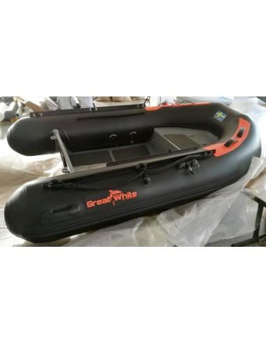 Aluminium Ribbåt 270A Enkelskrov & dubbelskrov - Greatwhite