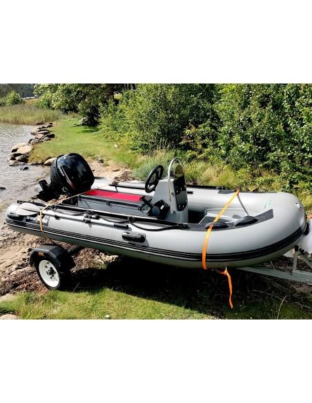Båtpaket RIB330 Alu, Jockeysäte & 20HK Hidea FES Båtmotor