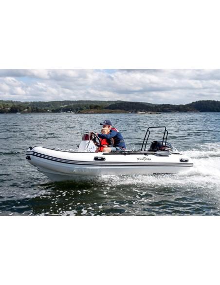 Båtpaket Ribbåt RIB360 Sport + 25HK SER båtmotor Greatwhite