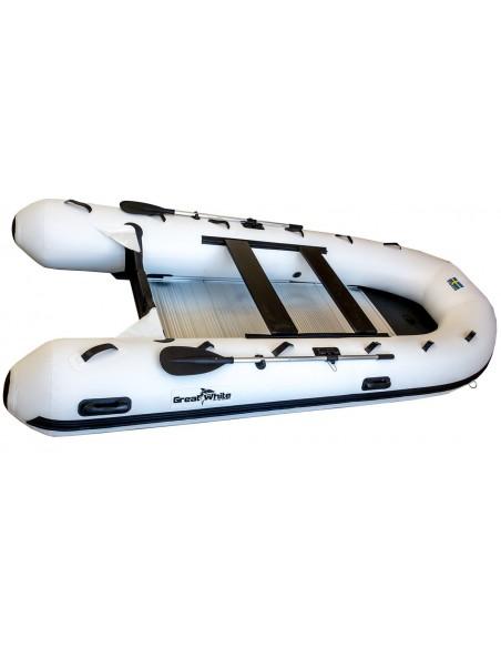 Gummibåt IF400 uppblåsbar V-köl, aluminiumdurk