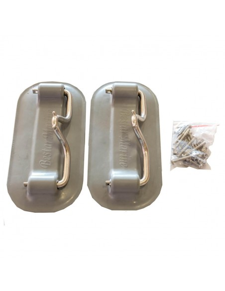 Gummibåtsdävert för badplattform Davits