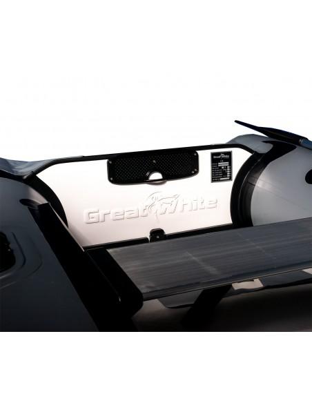 Gummibåt IF230 uppblåsbar V-köl, airmat och aluminium