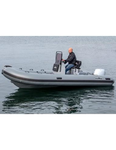 Greatwhite RIB510 Aluminium med Rattkonsol & 2-sits Soffa