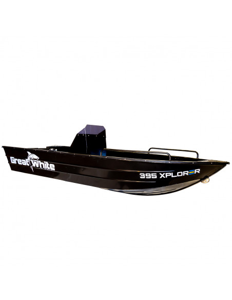 xplorer 395 aluminiumbåt med rattkonsol från Greatwhite.