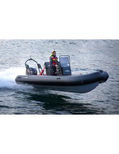 Ribbåt ALU510 Aluminium inkl. 2-sits soffa & Rattkonsol m sits