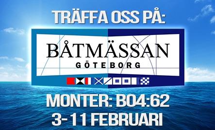 Båtmässan Göteborg 2018
