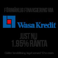 Kampanjränta 1.95% via WasaKredit